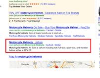"""Ranked Jafrum #2 for Keyword """"Motorcycle Helmets"""""""