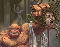 Alegoría de Perseo VS Medusa