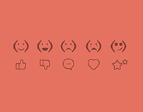 Smileys & Icons with Flat UI