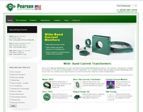 Website Design for Industrial Components Website