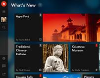 Tablet Learning App