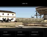 Lisboa 1755 - 1st Place in APOM Award - UI/UX Design