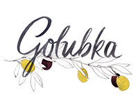 Golubka Kitchen Blog Logo