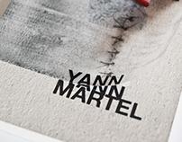 Yann Martel book covers