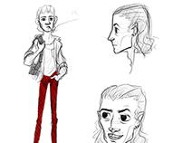 Jamie Character Design