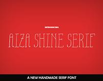 Free Aiza Shine Serif Font