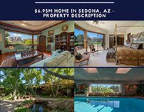 $6.95M Home - Property Description