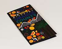 Discover Orange County Tri Fold Brochure