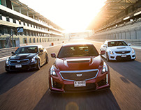 Cadillac V-Series GM Middle East PR campaign