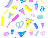 """""""Sweet Tooth"""" Textile Patterns"""