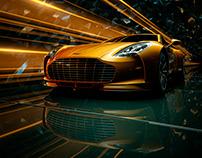 // Aston Martin - Personal work