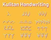 Kulitan Handwriting OpenType Font