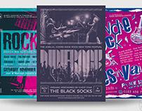 Indie Rock Flyer Bundle V3