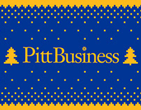 Pitt Business Ugly Christmas Sweater