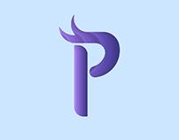 Single letter logo - An alphabet that represent me