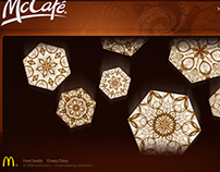 McCafe Snowflakes: 2009 Launch