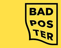 BADPOSTER impressive daily poster challenge, pt.1