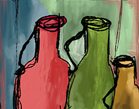 Adobe Fresco: Colors, Movement & composition