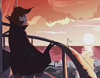 Sunset + Process