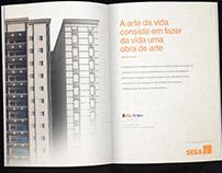 Anúncios Revista - Sega Construtora