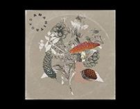 Cover artwork for AMANITA EP - GKS