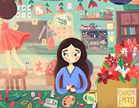 Flower festival·Ilustration·
