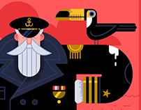 Toucan + Captain