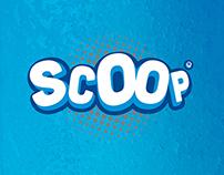 SCOOP Slushice identity