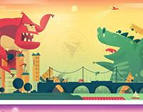 Rebranding/visualisation/ilustrations/K&C Media Group