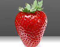 Recreation of A Strawberry