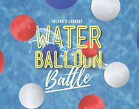 Water Balloon Battle Flyer