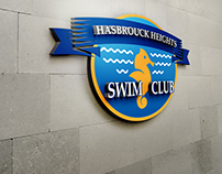 Logotipo Hasbrouck Heights Swim Club
