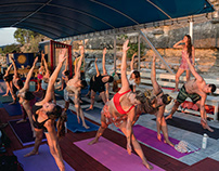 Event Photography: Boats and Yoga with Allie Bee.