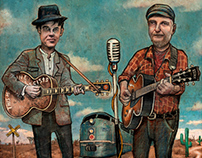 Rhythms Magazine - Billy Bragg & Joe Henry