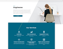 Website Design Project for Inspireone.in