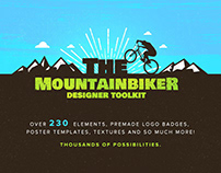The Mountain Bike - Designer Logo Kit