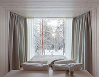 Arctic Treehouse Hotel by Studio Puisto Architects