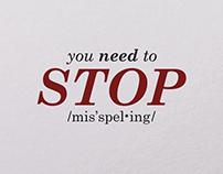 Stop Misspelling | Video
