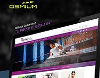 Lakshi Salon Web Design & Development