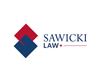 Sawicki Law Logo & Stationery