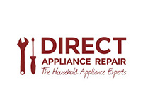 Direct Appliance Repair Logo & Website