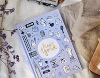 Notebook collection for Lovely Streets