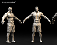 3D Game character - Fighter