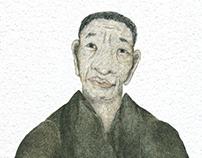 An artist. The main character. 长城脚下的小池塘