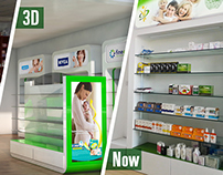 No Pain Pharmacy Interior Design