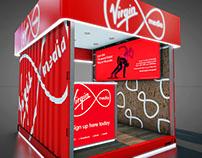 Virgin Media - Outdoor Kiosk Design