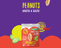 Nutty By Nature - Flavored Peanuts