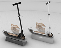 Eldorado scooter stand
