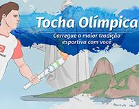INFOGRÁFICO - Tocha Olímpica