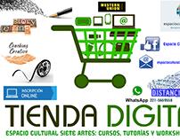 Espacio Cultural 7A - Tienda digital